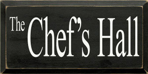 """CUSTOM 9"""" x 18"""" Black Board with Cottage White Letttering"""