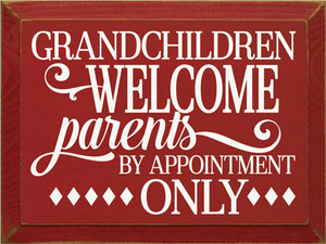 CUSTOM Grandchildren Welcome 9x12