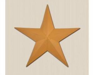 "48"" Mustard Metal Barn Star"