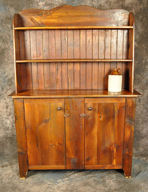 Reclaimed Wood Kitchen Hutch 52