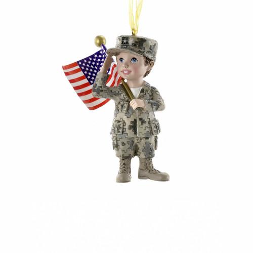 military ornament ornament for veteran veteran ornament army gift army ornament