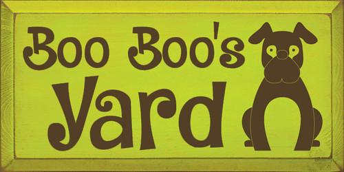 CUSTOM Boo Boo's Yard 9x18