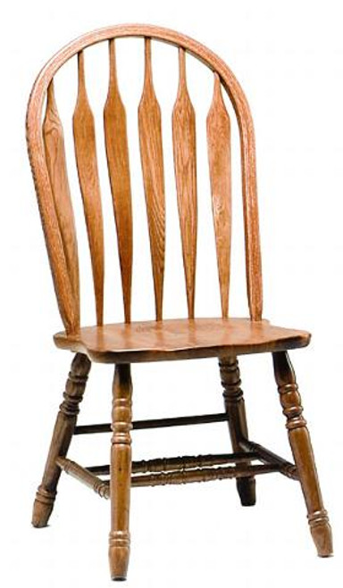 Solid Oak Monarch Chair
