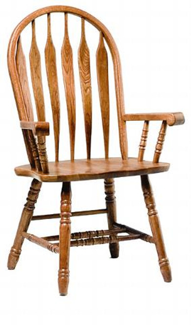 Solid Oak Monarch ARM Chair