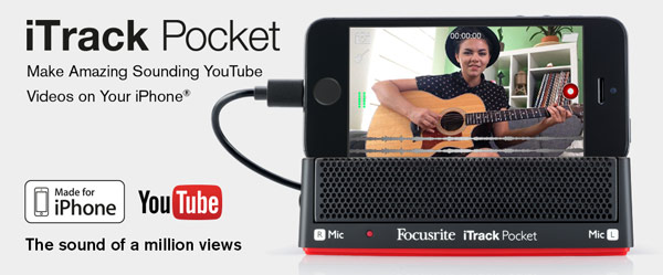 iTrack Pocket YouTube Video Recorder