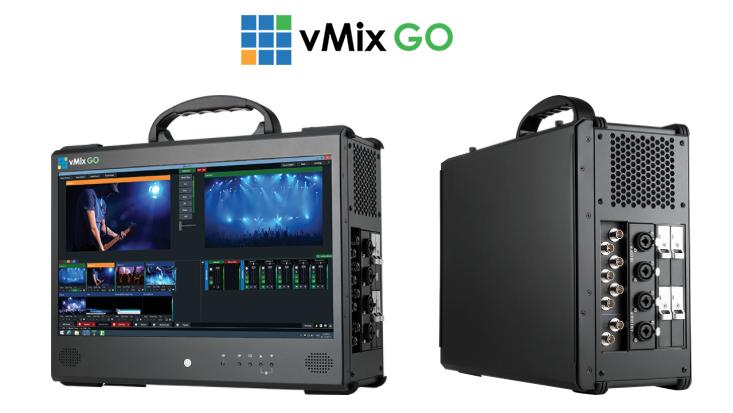 vMix Go with 8 SDI inputs