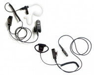 Acoustic Tube or D ring Earpiece Option