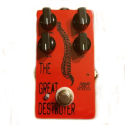 Dwarfcraft Devices Great Destroyer Oscillating Fuzz Guitar Pedal
