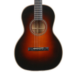 2010 Huss & Dalton Custom Blackwood Parlor Acoustic in Sunburst