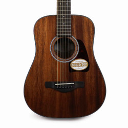 Ibanez AW54 3/4 Sized Mini Dreadnought Acoustic Guitar Natural