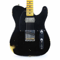 Fender Custom Shop NAMM Limited '52 Telecaster HS Relic in Aged Black over Natural Blonde
