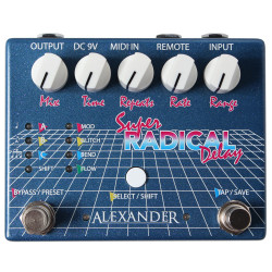 Alexander Pedals Super Radical Delay Guitar Pedal