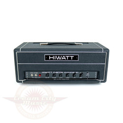 2004 Hiwatt Custom SSH Studio/Stage MK II 40/20W Boutique Tube Amp Head