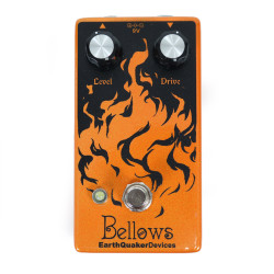 EarthQuaker Devices Bellows Fuzz Driver Guitar Effects Pedal