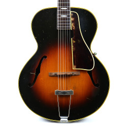 Vintage 1946 Gibson L-4 Archtop Acoustic Guitar Sunburst Finish