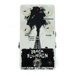 Old Blood Noise Endeavors Black Fountain V2 Oil Can Delay Pedal