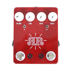 JHS Pedals Ruby Red Butch Walker Signature Overdrive / Boost / Fuzz Pedal