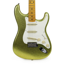 Used Fender Custom Shop Limited Edition 2016 NAMM '50s Stratocaster in Chartreuse Sparkle