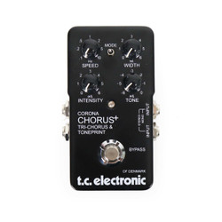 TC Electronic Limited Edition 40th Anniversary Corona Chorus + SCF Pedal