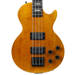 1993 Gibson LPB-2 Deluxe Premium Plus Les Paul Bass Translucent Amber Finish