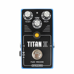 Spaceman Effects Titan II Fuzz Machine Blue Limited Edition Silicon Fuzz Pedal