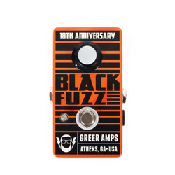 Greer Amps Limited Edition 18th Anniversary Black Fuzz Pedal
