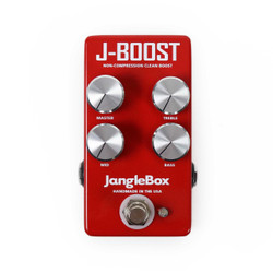 Janglebox J-Boost Non-Compression Clean Boost Pedal