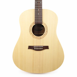 Seagull Excursion Natural Solid Spruce Dreadnought Acoustic Guitar