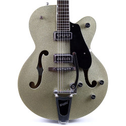 2005 Gretsch G5126 Electromatic Electric Guitar Silver Sparkle Finish