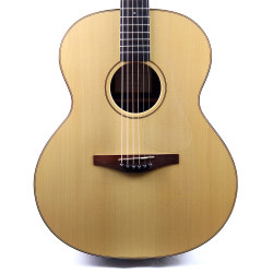 2002 Avalon Model A200 Acoustic Guitar Natural Finish