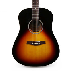 Seagull S6 Spruce Dreadnought Sunburst GT Acoustic Guitar