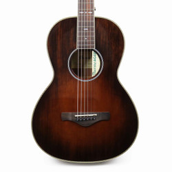 Ibanez AVN10 Acoustic Guitar in Brown Violin Sunburst