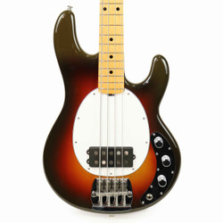 Music Man StingRay 40th Anniversary Old Smoothie Bass in Chocolate Burst