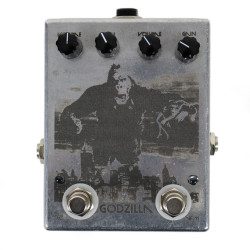 Devi Ever : FX Godzilla Fuzz Pedal in Limited Edition Etched Finished