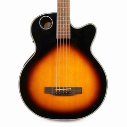 Boulder Creek EBR1-TB5 Solitaire 5 String Cedar Acoustic Electric Bass in Sunburst