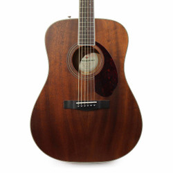 Fender Paramount PM-1 Standard Dreadnought All-Mahogany Acoustic Guitar
