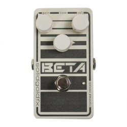 Solid Gold FX Beta Cream Overdrive Pedal