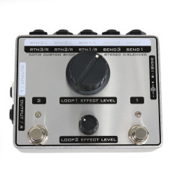 Xotic Effects SXB-1 Stereo X-Blender Loop Send/Return Pedal