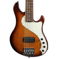 2013 Fender American Deluxe Dimension V 5-String Bass Sunburst