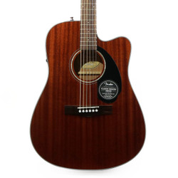 Fender CD-60SCE Dreadnought Mahogany Acoustic Electric in Natural