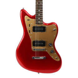 Fender Squier Deluxe Jazzmaster ST Hard Tail in Candy Apple Red