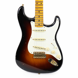 Fender Custom Shop 2017 Limited '57 Journeyman Relic Stratocaster in Wide Fade 2 Tone Sunburst