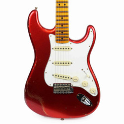 Fender Custom Shop 2017 Limited '64 Stratocaster Relic in Candy Apple Red Sparkle