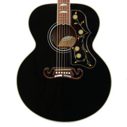 2009 Gibson SJ-200 Standard Acoustic Electric Black