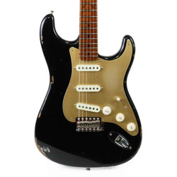 Fender Custom Shop 2017 Limited '56 Stratocaster Relic in Aged Black