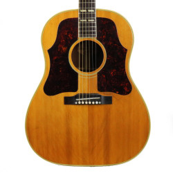 Vintage 1957 Gibson Country Western Dreadnought Acoustic Guitar Natural Finish