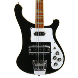 Vintage 1978 Rickenbacker 4001 Electric Bass Guitar Jetglo Finish