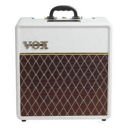 Vox AC4C1-12 Limited Edition 4W 1x12 Tube Combo Amp White Bronco
