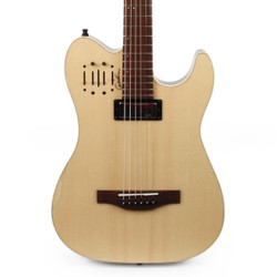 Godin Acousticaster Deluxe Rosewood Fretboard in Natural B-Stock