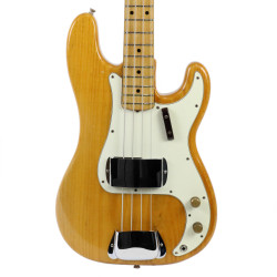 Vintage 1973 Fender Precision Bass Natural Finish